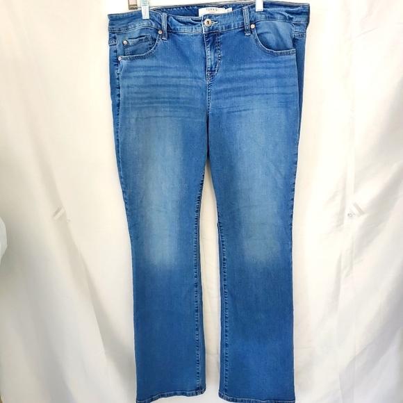 Torrid Denim Slim Bootcut Jeans light wash size 18 R